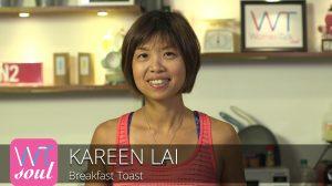 Kareen Lai breakfast toast recipe