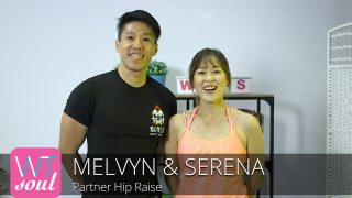 partner hip raise