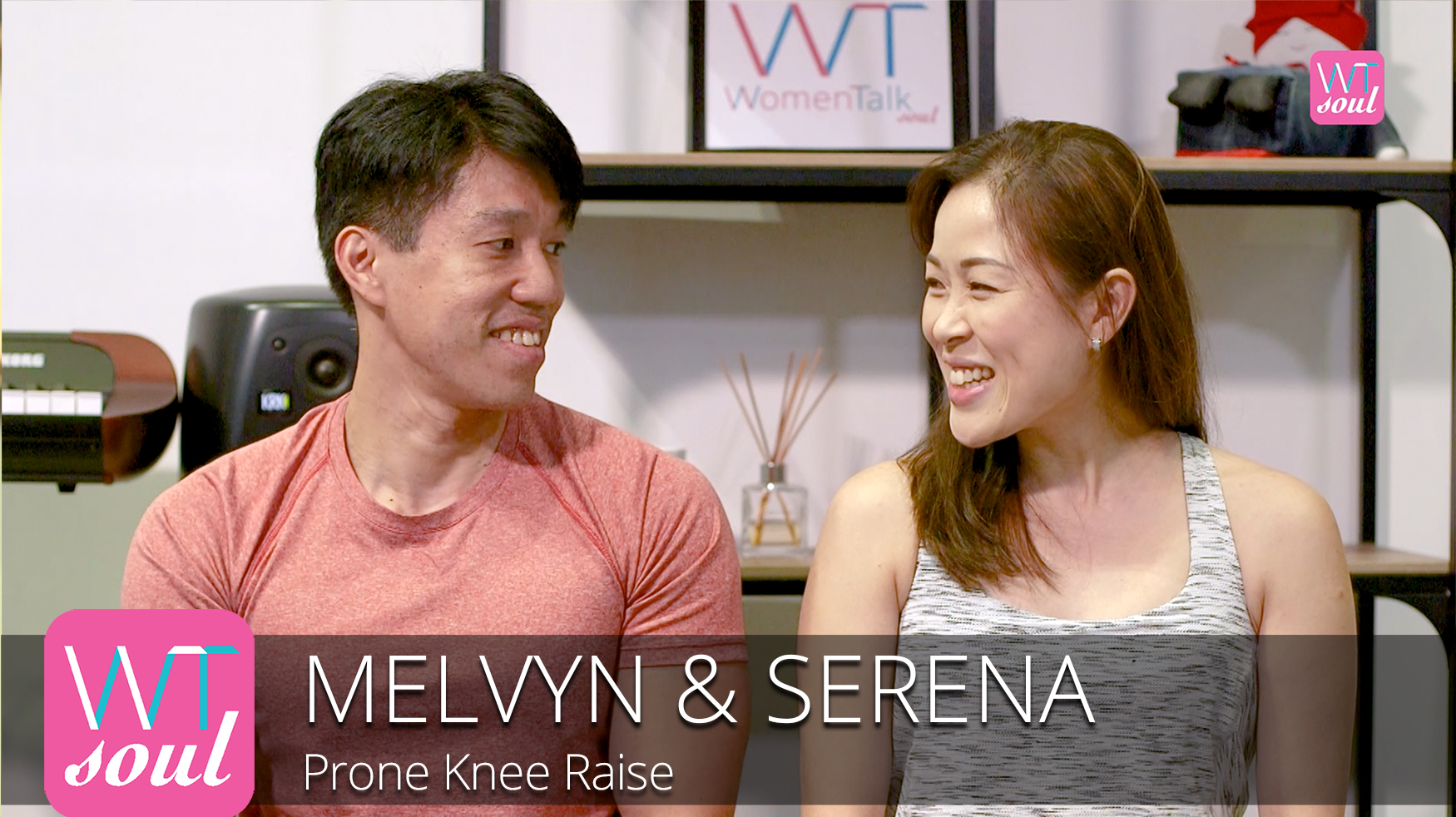 Melvyn Serena prone knee raise womentalk